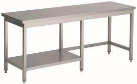 700 Werktafel ½ Bodemschap 1900 Combisteel 7812.0480