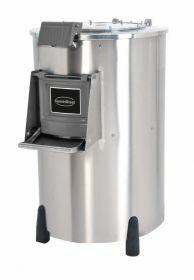 Aardappelschilmachine Aardappelschrapmachine 50Kg 400V Combisteel 7054.0020