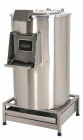 Aardappelschilmachine Aardappelschrapmachine Met Filter 50Kg 400V Combisteel 7054.0040