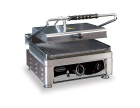 Bakplaat / Grillplaat Contact Grill Combisteel 7491.0005