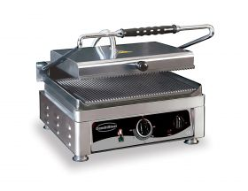 Bakplaat / Grillplaat Contact Grill Combisteel 7491.0020