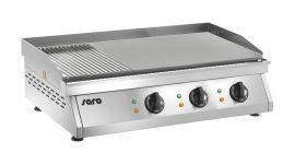 Bakplaat / Grillplaat Elektrische (Gegroefd+Glad) Model Fry Top Gh 760 R Saro 172-3135