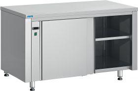 Bordenwarmer Opbergkast met schuifdeuren Model LENI 1400 mm Saro 221-2045