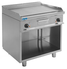 Elektrische grill en bakplaat met open basis model E7 / KTE2BAL Saro 423-1245