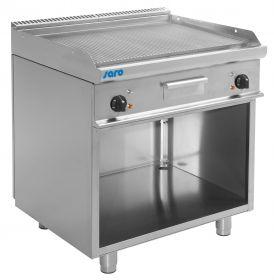 Elektrische grill en bakplaat met open kast model E7 / KTE2BAR Saro 423-1250