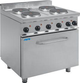 Elektrische kookplaten met elektrische oven Model E7 / CUET4LE Saro 423-1080