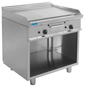 Gas grill en bakplaat met open kast model E7 / KTG2BAL Saro 423-1195