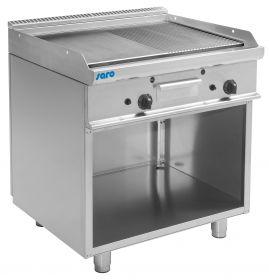 Gas grill en bakplaat met open kast model E7 / KTG2BAM Saro 423-1205