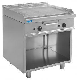 Gas grill en bakplaat met open kast model E7 / KTG2BAR Saro 423-1200