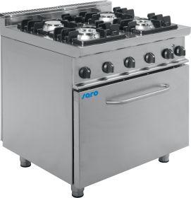 Gasfornuis met elektrische oven Model E7 / KUPG4LE Saro 423-1035