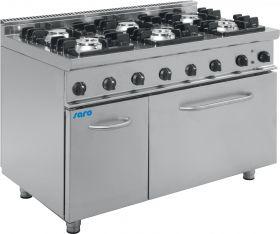 Gasfornuis met elektrische oven Model E7 / KUPG6LE Saro 423-1045