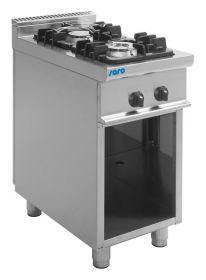 Gasfornuis met open onderbouw model E7/KUPG2BA Saro 423-1015