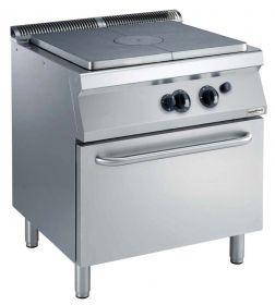 Gasfornuis Pro 700 Kookplaatfornuis Gas Oven Combisteel 7488.0055