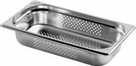 Gastronormbak / Deksel Budget Line Gn-Bak 1/3 Gn Geperforeerd Diepte 100 Mm Saro 282-9210