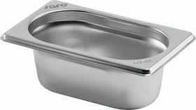 Gastronormbak / Deksel Budget Line Gn-Bak 1/9 Gn Diepte 100 Mm Saro 282-9170