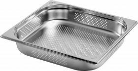 Gastronormbak / Deksel Budget Line Gn-Bak 2/3 Gn Geperforeerd Diepte 65 Mm Saro 282-9195