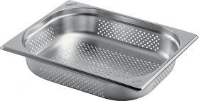 Gastronormbak Roestvrij Staal geperforeerd 1/2 GN 150 mm diep Saro 126-5374