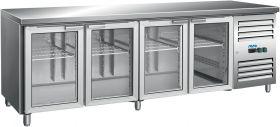 Gekoelde werkbank Koeltafel met ricirculerende koeling Model GN 4100 TNG Saro 323-3154
