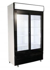 Koelkast Schuif Glasdeuren Bez-750 Sl Combisteel 7455.1395