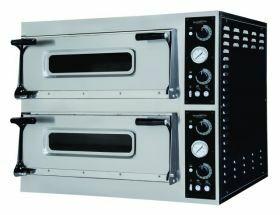 Pizza-Oven Pizzaoven Bakplaat Dubbel 2 X 6 Combisteel 7485.0045