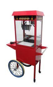 Popcornmachine Incl. Wielen Combisteel 7455.0815