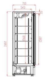 Rooster L/R Voor 7455.2200-2205-2210 Combisteel 7455.2226