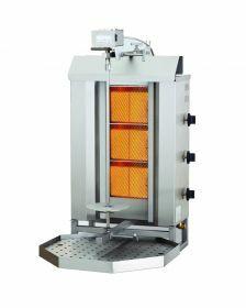Sous-Vide Koker Gyros Grill Gas Motor Boven 3 Hittezones Combisteel 7049.0005