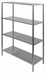 Stelling / Wandplank Rek 4 Levels 1500 Combisteel 7839.0310