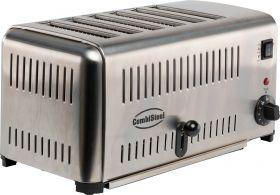 Toaster / Broodrooster 6 Combisteel 7455.1640
