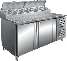 Voorbereidingstafel met ventilator koeling Model SH 1500 Saro 323-1115