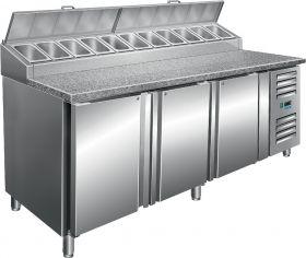 Voorbereidingstafel met ventilator koeling Model SH 2000 Saro 323-1120
