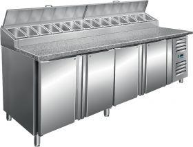Voorbereidingstafel met ventilator koeling Model SH 2500 Saro 323-1125