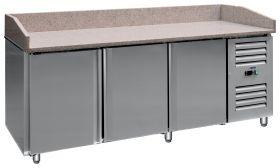 Voorbereidingstafel / Pizzatafel Pizzastation met ventilator PZ 3600 TN Saro 323-3136