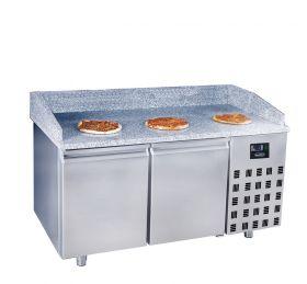 Voorbereidingstafel / Pizzatafel Pizzawerkbank 2 Deuren Combisteel 7489.5220