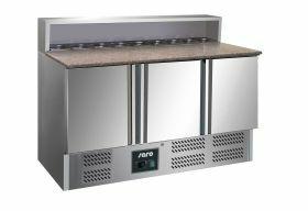 Voorbereidingstafel / Pizzatafel Pizzawerkbank Model Gianni Ps903 Saro 323-10051