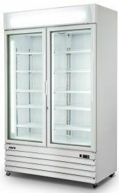 Vrieskast Met Ventilator Koeling 2 Glasdeuren Model D 800 Saro 453-1009