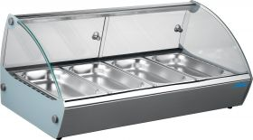 Warmhoudvitrine tafelmodel MARIE 6 Saro 330-1094