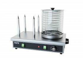 Worstwarmer / Hot Dog Apparaat Koker Warmer Model Hw 2 Saro 443-1020